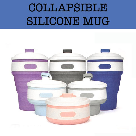 collapsible retracting mug cup corporate gifts door gift