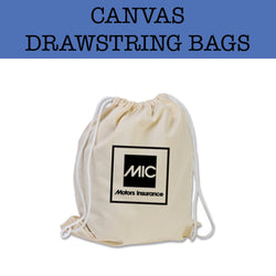 canvas drawstring bag corporate gifts