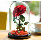 roses in glass dome corporate gifts door gift
