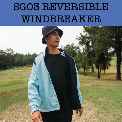 sg03 reversible windbreaker jacket corporate gifts door gift
