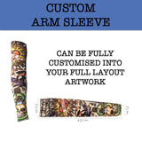 custom printed arm sleeve corporate gifts door gift