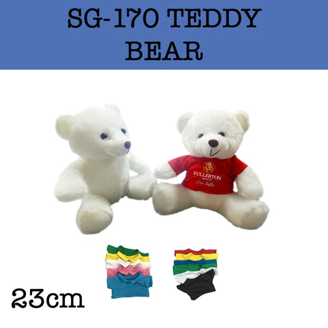 custom plush soft toy bear corporate gifts door gift
