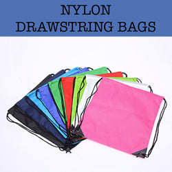 nylon drawstring bags corporate gifts