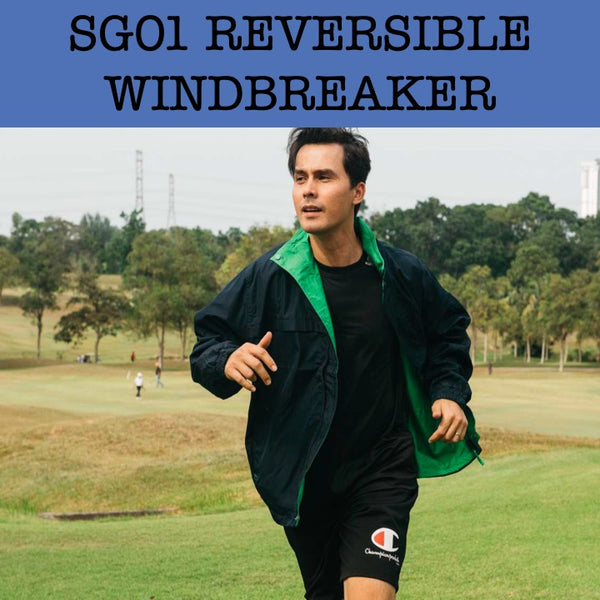 sg01 reversible windbreaker jacket corporate gifts door gift