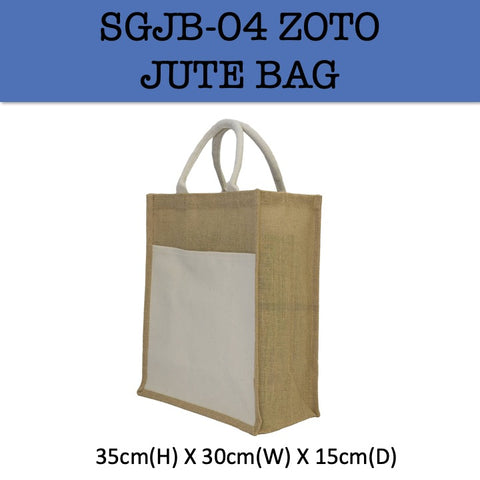 zoto jute bag corporate gifts door gift