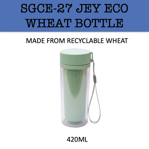 eco friendly wheat water bottle tumbler corporate gifts door gift