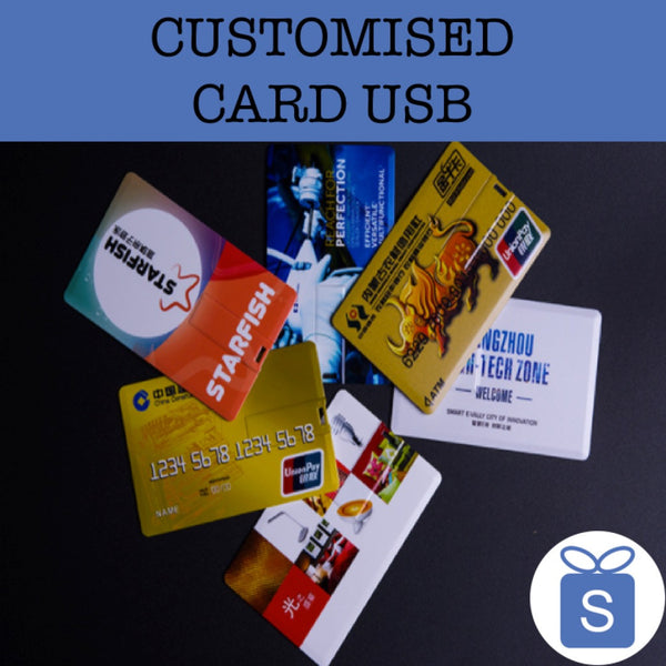 custom card usb corporate gifts