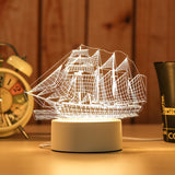 ship custom acrylic led light lamp corporate gifts door gift