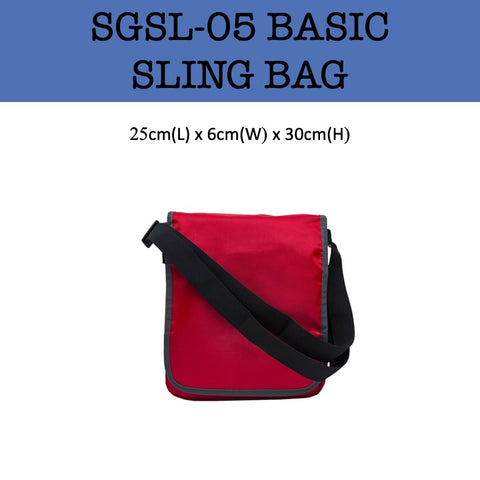 basic sling bag corporate gift door gifts
