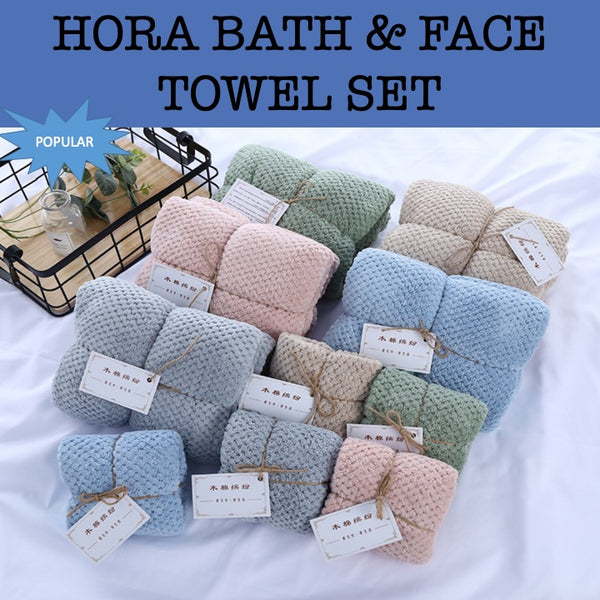 hora bath & face towel gift set esprit towel gift set corporate gifts door gift