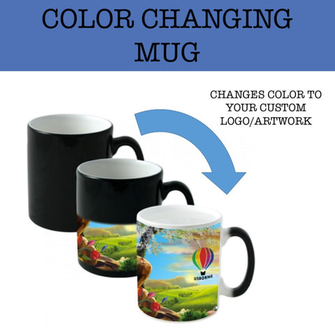 color changing mug corporate gifts door gifts
