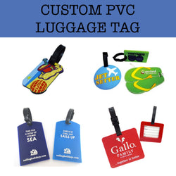 pvc luggage tag corporate gifts door gifts