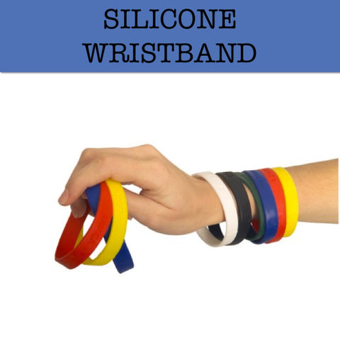 silicone wristband corporate gifts