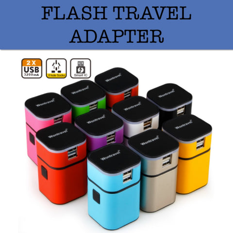 travel adapter corporate gifts