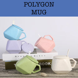 polygon mug corporate gifts door gifts