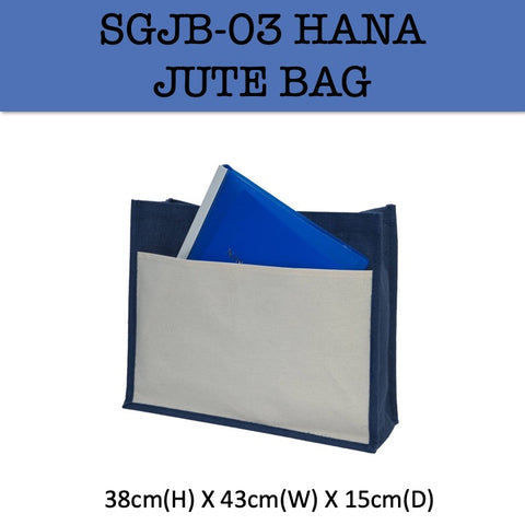 hana jute bag corporate gifts door gift