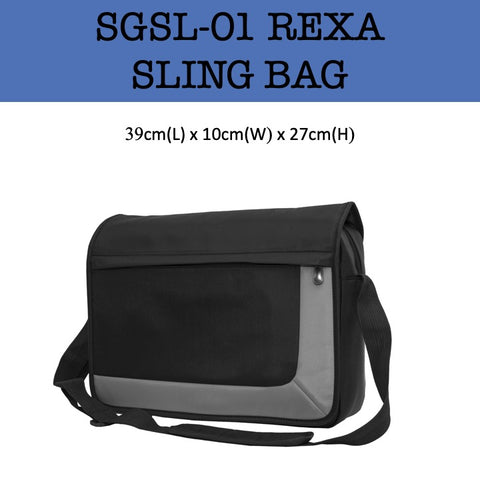 rexa sling bag corporate gifts door gift