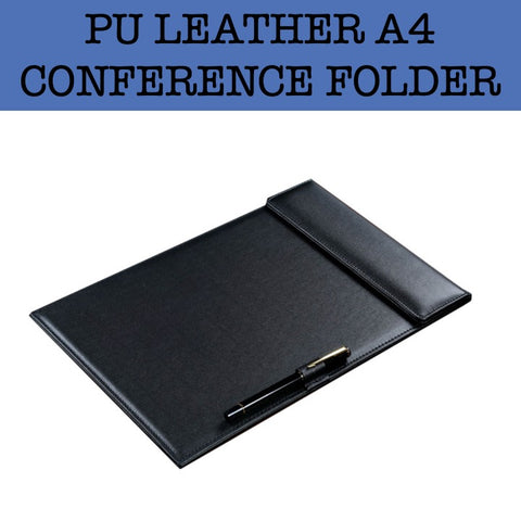 pu leather a4 conference folder corporate gifts door gift