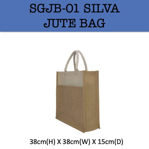 silva jute bag corporate gifts door gift
