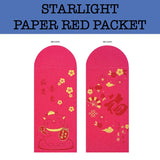 2020 starlight paper red packet chinese new year printing corporate gifts door gift