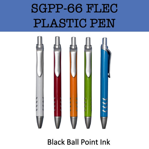 flec plastic promotional pen corporate gifts door gift