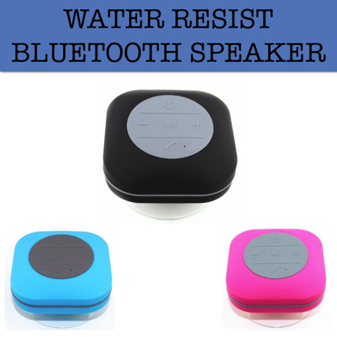 water resistant bluetooth speaker corporate gifts