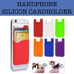 handphone silicon cardholder corporate gifts