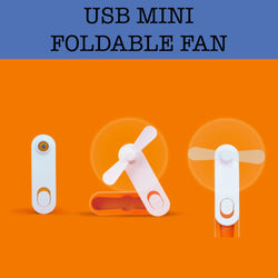 usb mini foldable fan corporate gifts