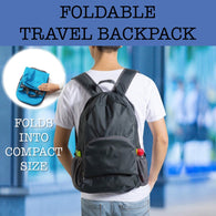 foldable travel backpack corporate gifts