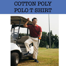 cotton poly polo t shirt corporate gifts door gift