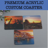 acrylic coaster corporate gifts door gift