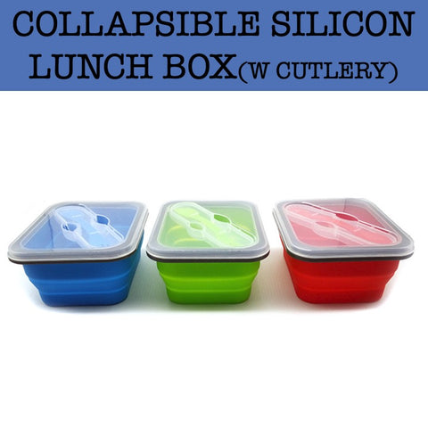 collapsible silicon lunch box corporate gifts door gift