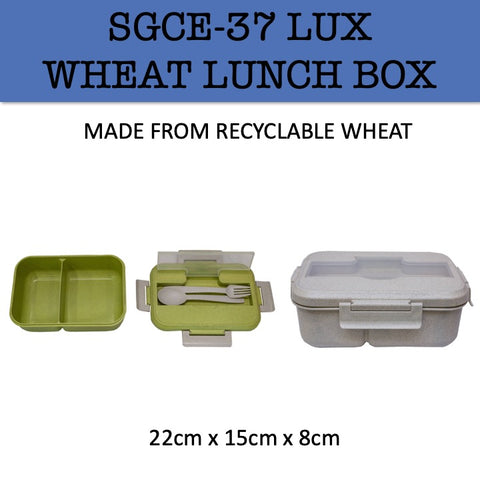 wheat eco friendly lunch box corporate gifts door gift