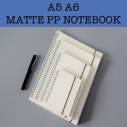 matte pp notebook corporate gifts
