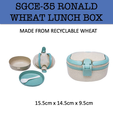 eco friendly lunch box wheat corporate gifts door gift