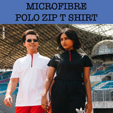 zip collar polo t shirt corporate gifts door gift