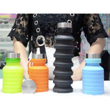 silicone foldable water bottle corporate gifts door gift