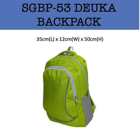 deuka backpack bag corporate gifts door gift