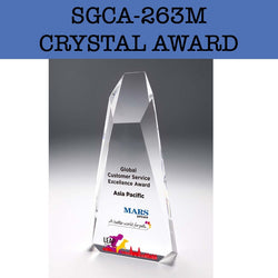 sgca-263m crystal award plaque corporate gifts door gift