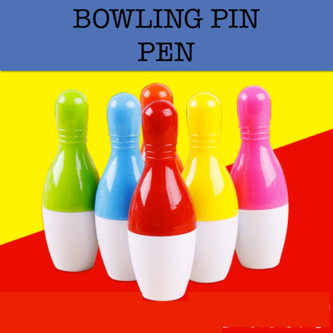 bowling pin promotional pen corporate gifts