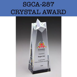 sgca-287 crystal award plaque corporate gifts door gift