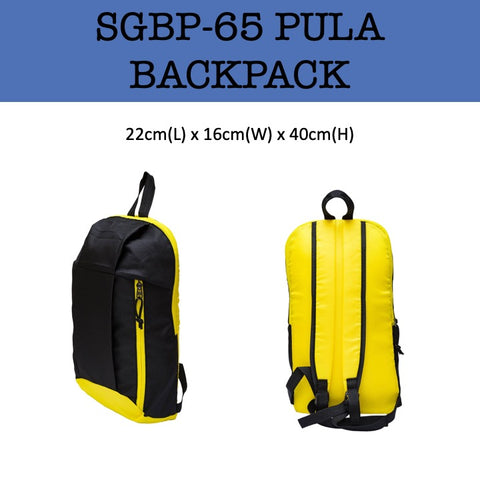 pula travel backpack bag corporate gifts door gift