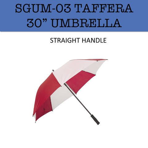 "taffera 30"" umbrella corporate gifts door gift"