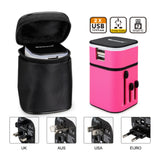 pink travel adapter corporate gifts