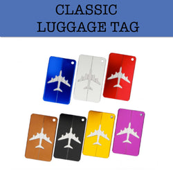 aluminium luggage tag corporate gift