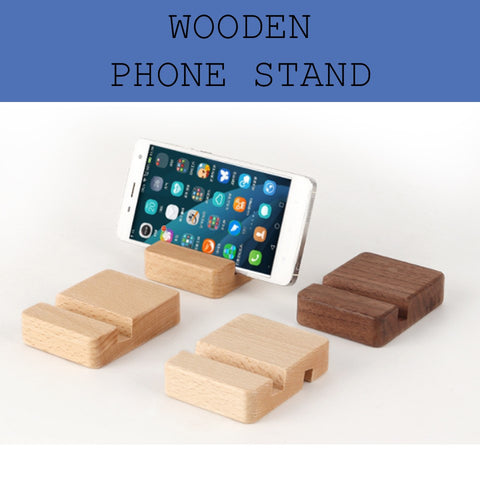 Wooden phone stand corporate gifts door gift giveaway handphone holder corporate gifts