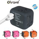 black cube travel adapter corporate gifts