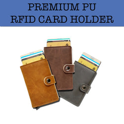 pu leather rfid card holder corporate gifts door gift