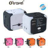 white cube travel adapter corporate gifts
