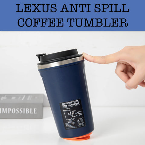 lexus anti spill coffee tumbler mug corporate gifts door gift